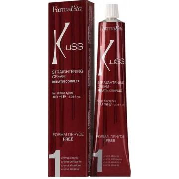 Crème de lissage K-Liss Kerat (100ml) - Farmavita