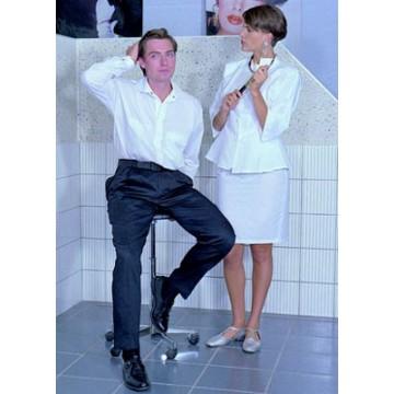 Pantalon Cesar Polycoton Blanc T1