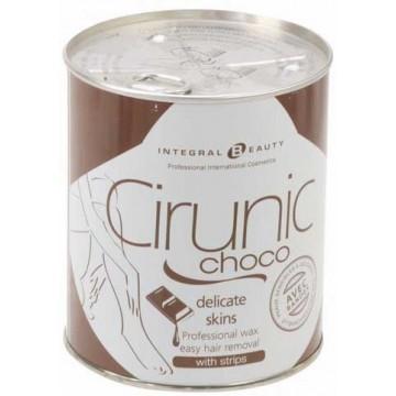Cire Epil Tiede Chocolat  Av Bande (800gr)