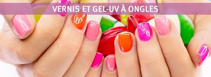 Vernis et Gel-UV à ongles