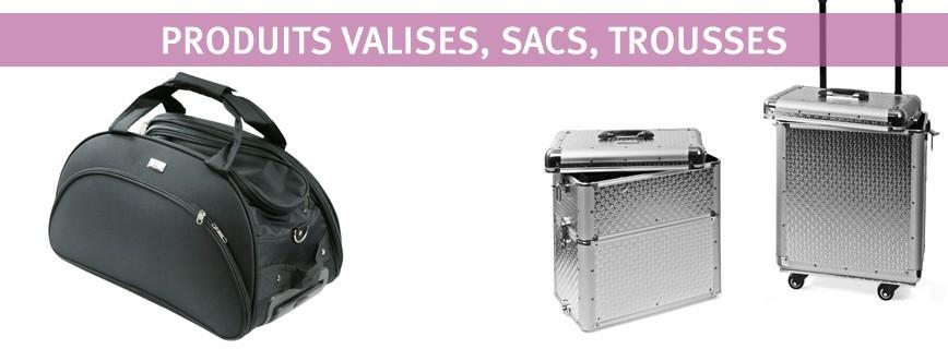 Valises/Sacs/Trousses d'esthétique