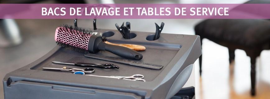 Bacs de lavage et Tables de service