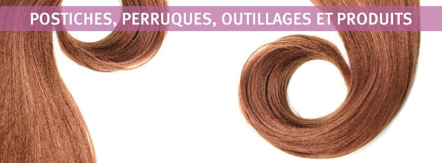 Postiches, Perruques, Outillages et Produits